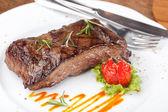 Steak ze svíčkové — Stock fotografie