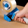 Packaging tape dispenser — Stock Photo #15737939