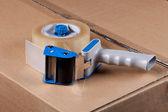 Packaging Tape Gun Dispenser — Stock Photo