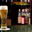 Stock Photo: Glass with beer
