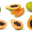 Papaya collection — Stock Photo #20616997