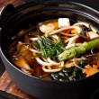 Japanese Cuisine - Miso Soup - Stock Photo