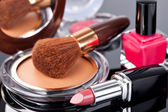 Various Cosmetics — Stock Photo