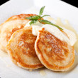 Thick pancake — Stock Photo