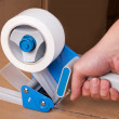Stock Photo: Packaging tape dispenser