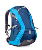 Blue backpack — Stockfoto