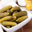 Pickled cucumbers — Stock Photo