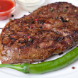 Stock Photo: Pepper steak