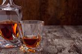 Glass of scotch whiskey — Foto de Stock