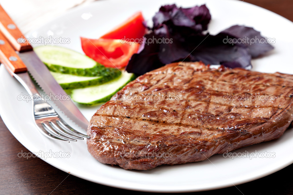 Grilled Steak     Stoc...