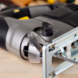 Electric fretsaw — Stockfoto