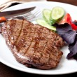 Stock Photo: Grilled Steak