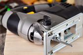 Electric fretsaw — Stock Photo