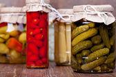 Preserved vegetable — Stock Photo