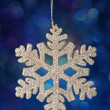 christmas snowflake — Stock Photo