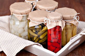 Preserved vegetable — Stock Photo