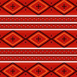 Stock Vector: Navajo textile pattern