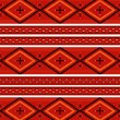 Navajo textile pattern - Stock Vector