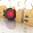 2013 year. Isolated 3D image — Stock Photo #12892962