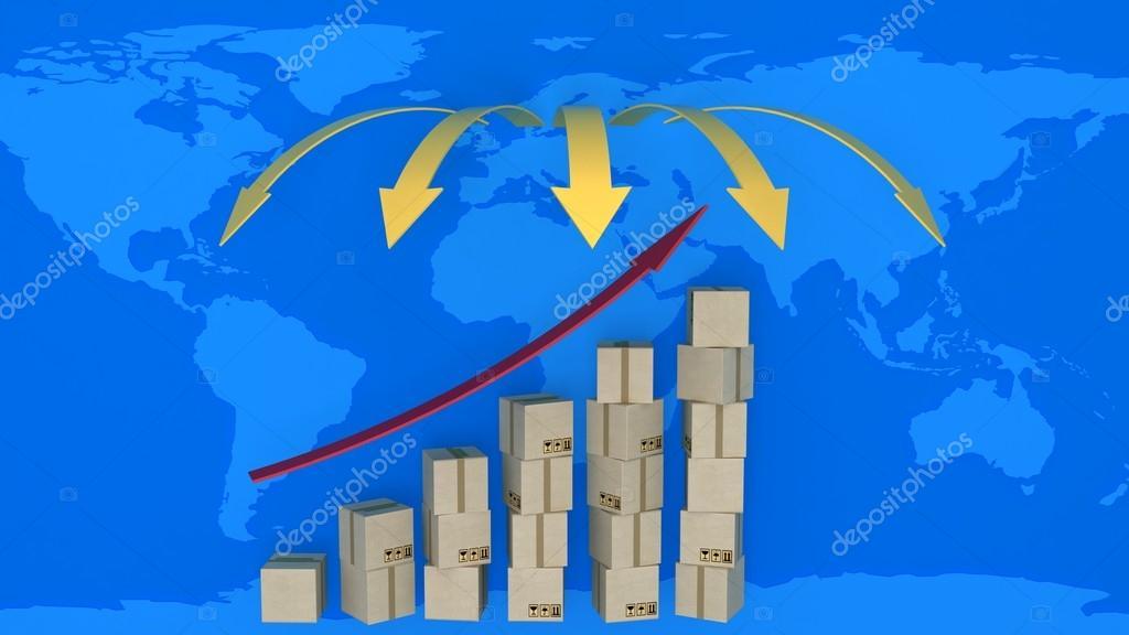 Схема увеличения экспорта в
