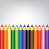 Coloured pencils — Stockvector