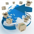 Worldwide shipping concept. — Stockfoto