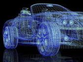 Moderní model auta — Stock fotografie