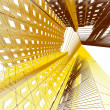 Abstract modern architecture background — Stock Photo