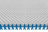 Conceptual leadership concept — Stock Photo