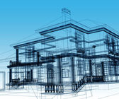 Abstract modern building — Stock Photo