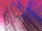 Arquitetura moderna abstrata — Foto Stock