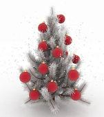 クリスマス ツリー。3 d のレンダリング画像 — ストック写真