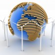 Alternative Energy Concept — Stock Photo