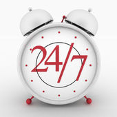 Round-the-clock service icon with highlight — Stock Photo