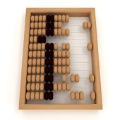 Retro abacus — Stock Photo