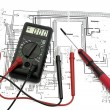 Electrical Plan - Stockfoto