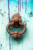 Image of ancient door knocker — Stock Photo