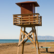 Watchtower beach — Stock Photo