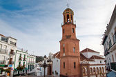 Competa in Spain, a traditional white town — Stock Photo