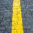 Yellow line — Stock Photo