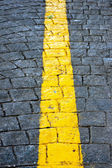 Yellow line — Stock Photo