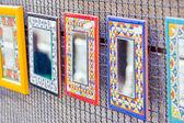 Decorative mirrors — Stock Photo