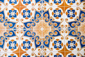 Spanish ceramic tile — Stock Photo