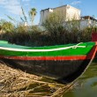Boat in Albufera, Valencia, Spain — Stock Photo