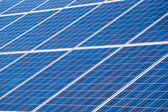 Solar panels collecting energy from the sun — Stock Photo
