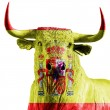Spanish bull — Stock Photo #33567993