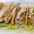 Razor clams — Stock Photo