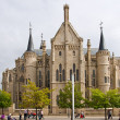 Gaudi palace in Astorga, Leon, Spain — Stock Photo