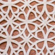 Old decorated wall background in Segovia, Spain — Stock Photo