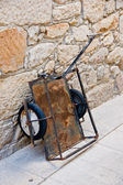 Old handcart — Foto de Stock